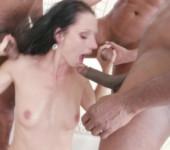 Free anal porn 3on1 July Sun interracial DP/ DAP/ GAPES/