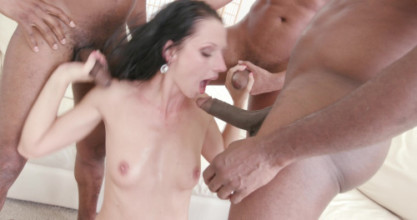 Free anal porn 3on1 July Sun interracial DP/ DAP/ GAPES/