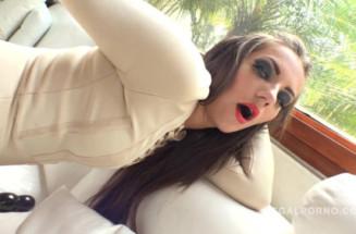 Porn anal video hot Maria Devine & Kyra Blonde 4on2 intense anal fucking