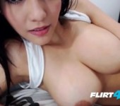 Exotic Asian Beauty Micha Latina Plays With Her Bangin' Body