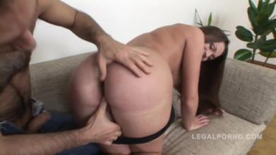 Free hardcore porn sex video Vlada assbanged by Gio