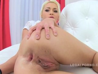 Raunchy russian anika vice has first time anal sex 5