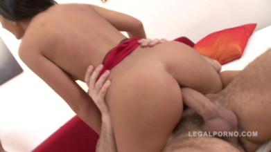 Hardcor ass sex Nicole sexy babe enjoys anal fucking