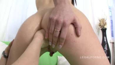 Anal video Aspen fisted by Venday