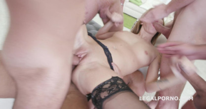 Anal sex free video Dap Destination Angel Piaf 5on1 Dp/ Dap /Multi Facial