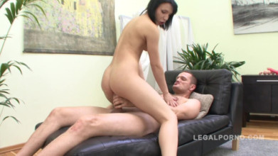 Free hardcore fucking Lina assfucked by monster cock & creampied