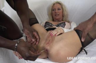 Anal pornstar movie Granny whore Marina Beaulieu gets fucked like a bitch