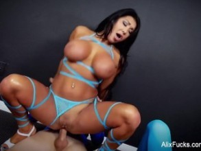 Assfucked eurobabe loves threesome sex 8