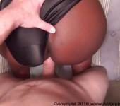 Anal Big Butt Ebony BBW MILF Gets Used