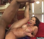 HumiliatedMilfs – Oiled up Kelly ready for a big black cock.