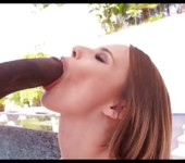 Jillian Has A Huge BBC Stuffed In Her Ass