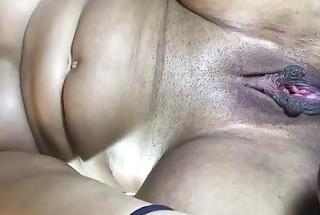 Kong toy hidden deep inside loose pussy slut
