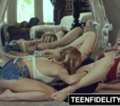 TEENFIDELITY Giselle Palmer and Arya Fae Anal Threesome