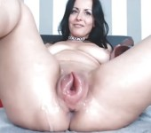 Massive squirting pumped pussy