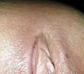 Wife's pussy close up