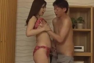 Superb wife provides amazing Japanese blowjob